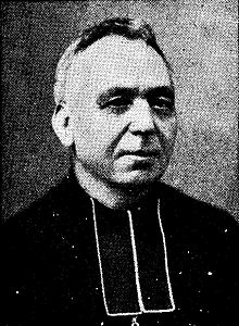 Adolf Daens, Flemish Jesuit priest from Aalst who is especially known for his socio-political involvement after he joined the diocesan clergy. He created the Daensist movement from which originated in 1893 the Christene Volkspartij inspired by Leo XIII's encyclical Rerum Novarum.