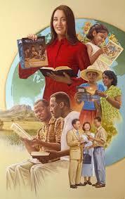 Saam sterk verenig in die deel met mekaar van die Waarheid van God, vol durf om daar op uit te trek om die Goeie Nuus te verkondig - samen sterk in de verkondiging van het Goede Nieuws en bekendmaking van Gods Heilige Naam en Zijn Plan van wereldvrede