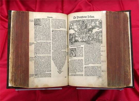 1545 Bible in Low German is Luther's final revision of the High German Bible that he first published in 1534.